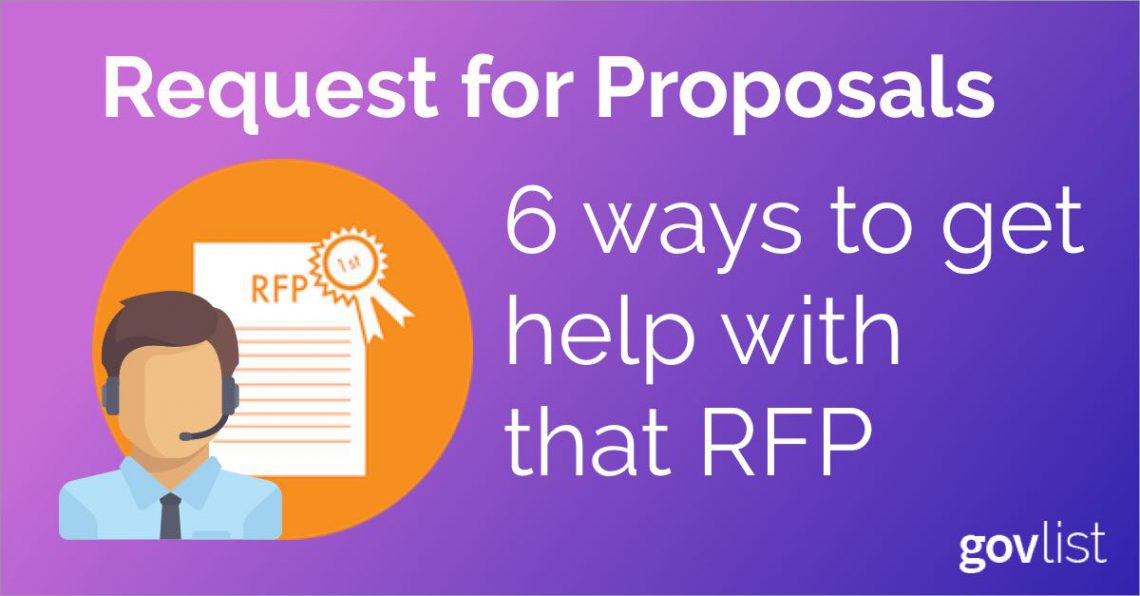 6 ways to get help with that RFP | ProcureNow